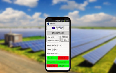 Sunmeter can now be configured via Android mobile devices